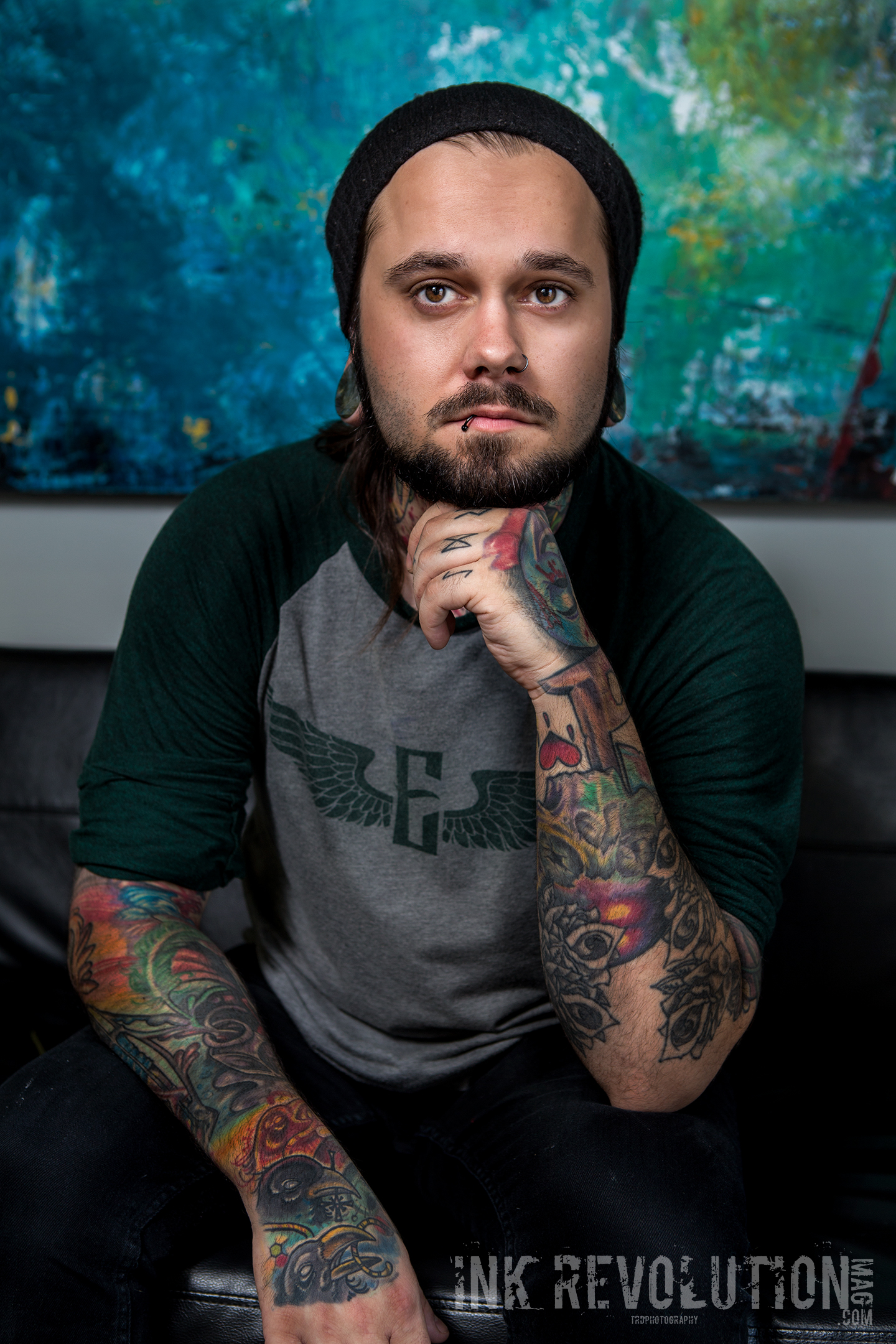 Tattoo Artist - Michael Clester - Photo TRD Photography