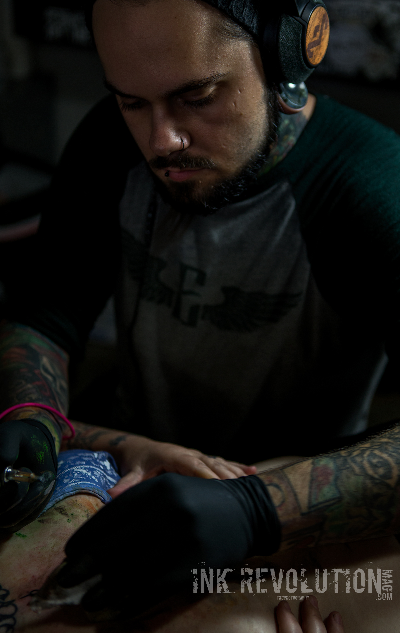 Tattoo Artist - Michael Clester - Photo - TRD Photography