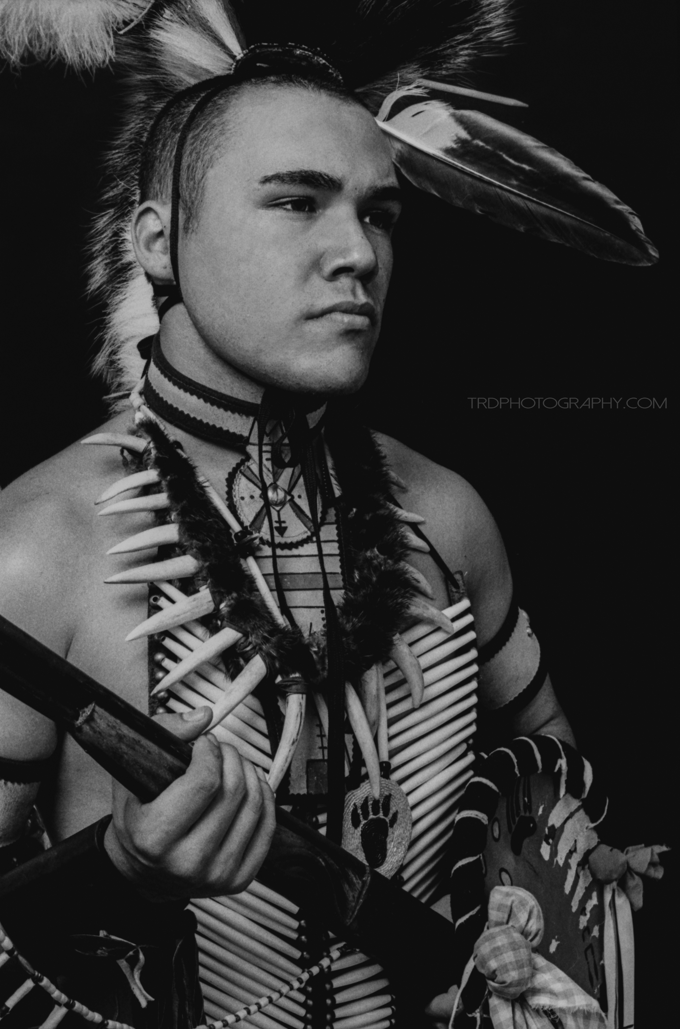 Native American Portrait Series - Michael Brenton Morrison - TRD Photography