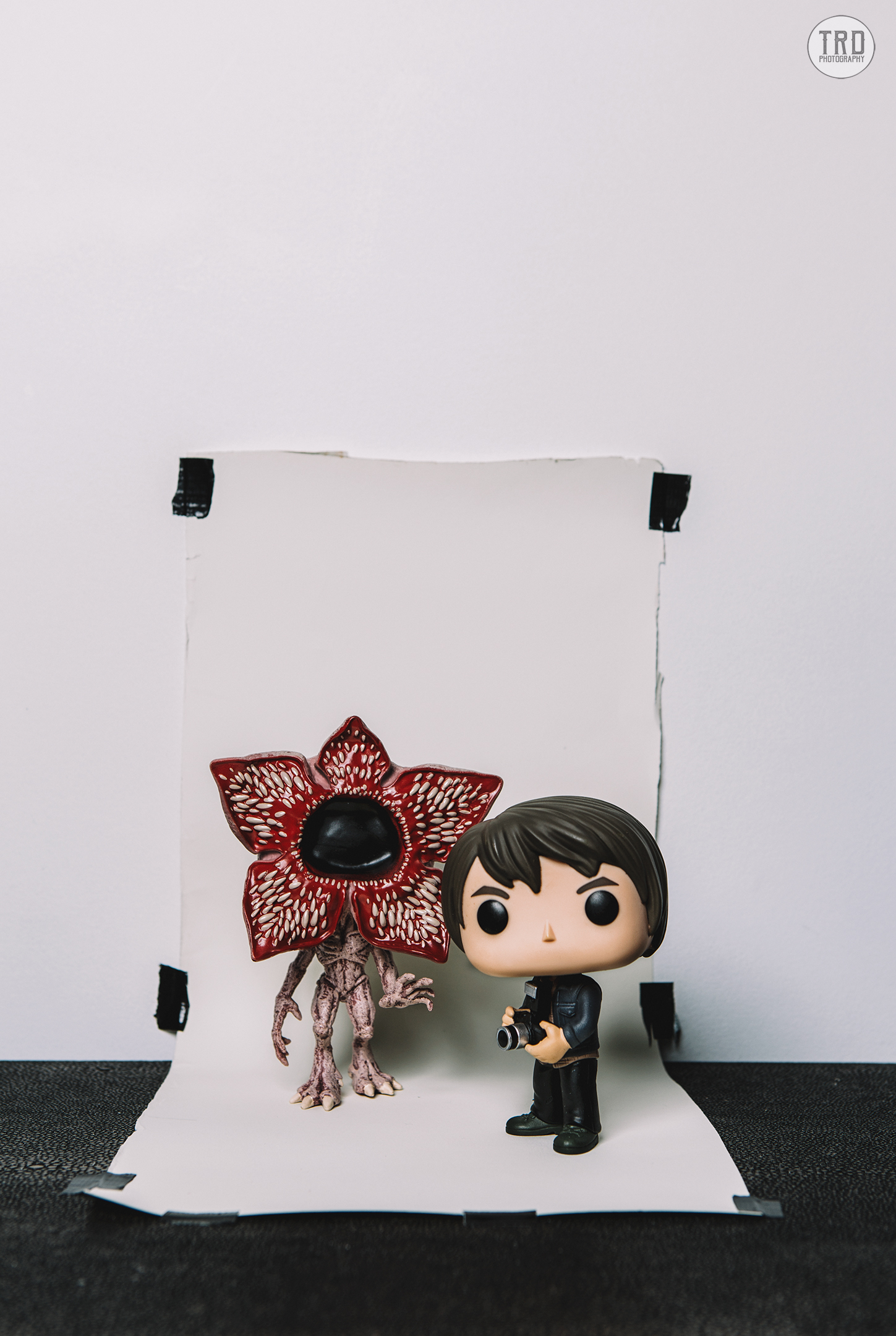 Behind the Scenes of a Strange Photoshoot.... Pop Toy Photo by TRD Photography