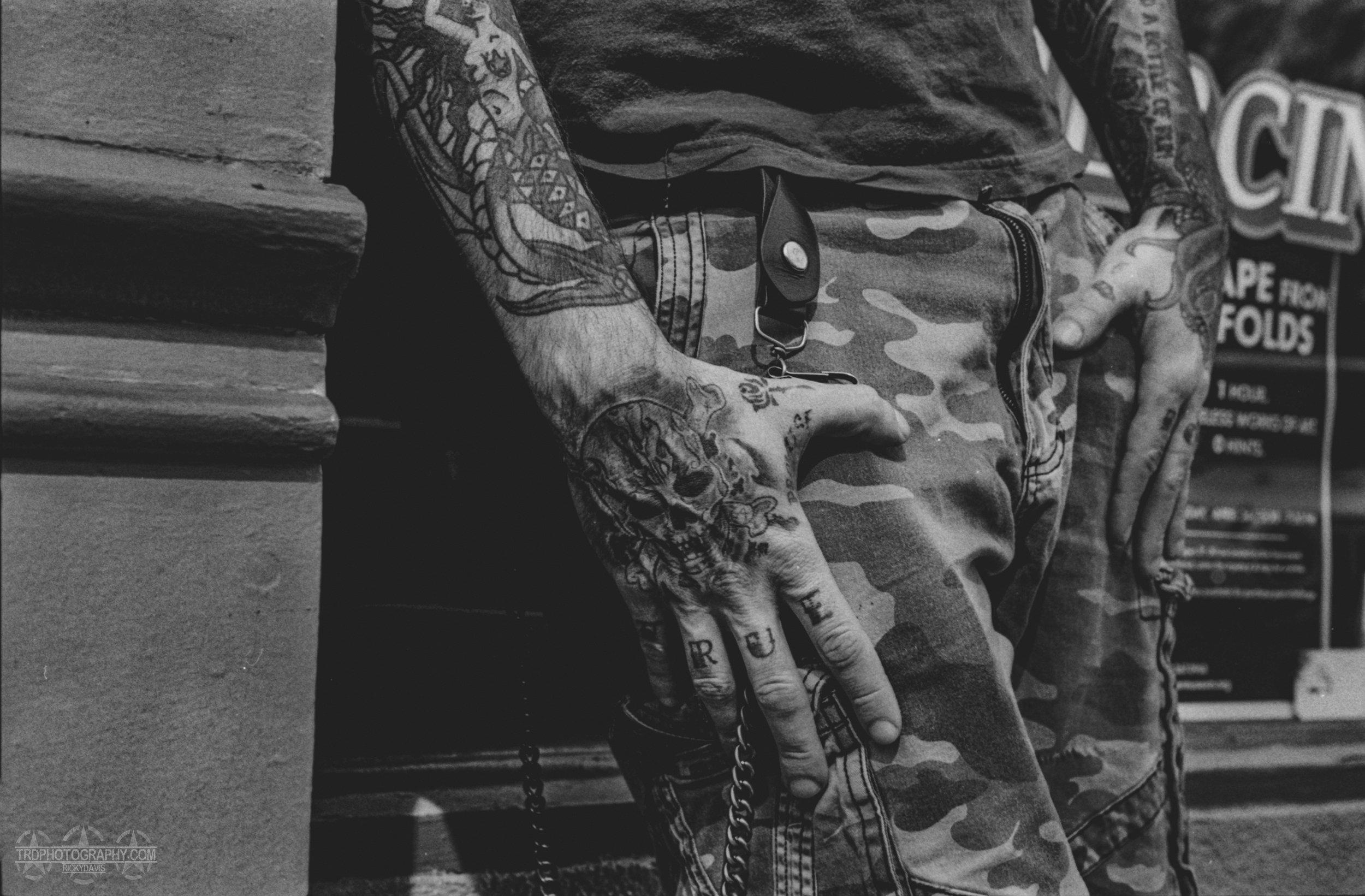 Tattoo Artist Kenneth Chope - TRD Photography