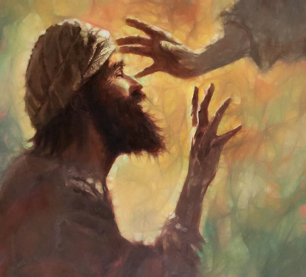 Mark 10:46-52 Jesus Is Passing By — Tell the Lord Thank You
