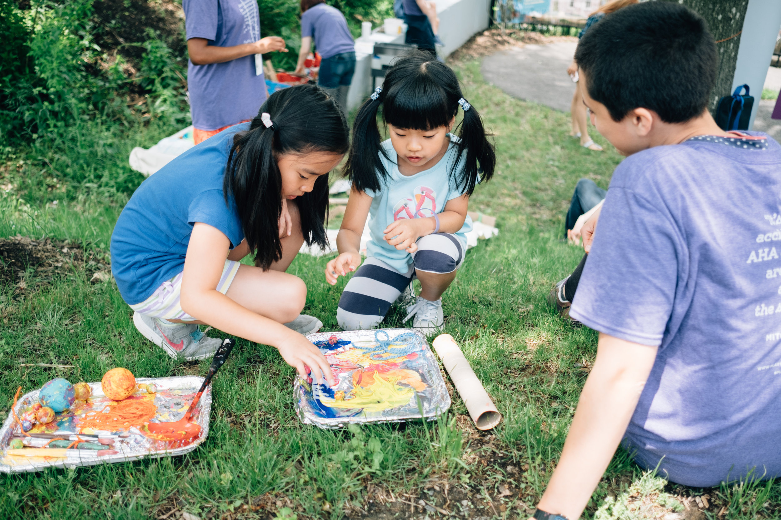 Gravity painting with Carnegie Museum of Art