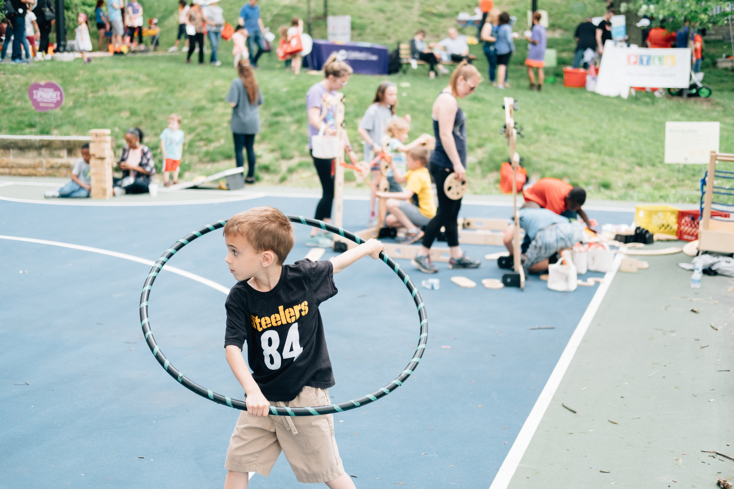 Hula Hoops with Let's Move Pittsburgh