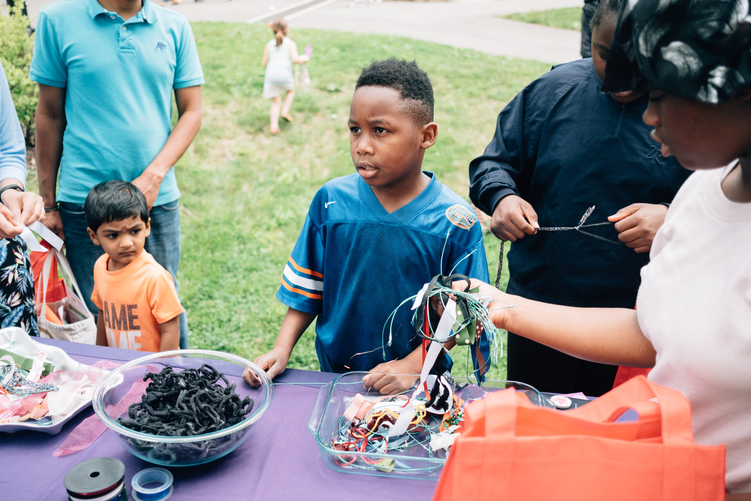 Recycled art with Pittsburgh Cultural Trust