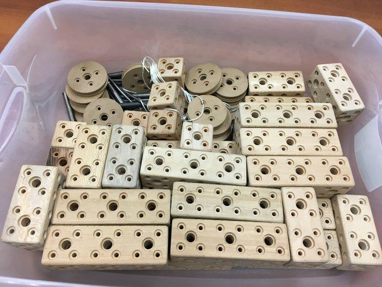 Building activity pieces