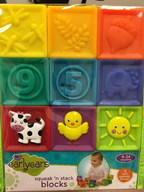 Baby/Toddler Block Play Box (2/3)