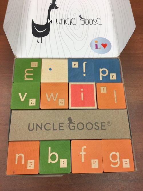 Preschool Wooden Letter Blocks (3/5)