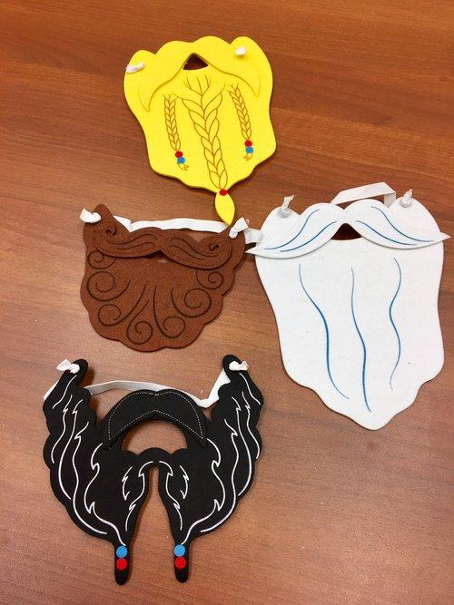 Beard masks