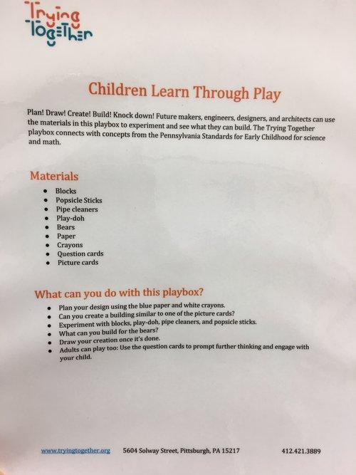 Play Box Description