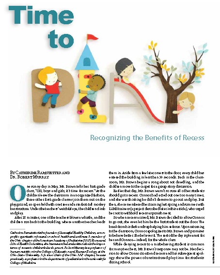 Recognizing the Benefits of Recess -