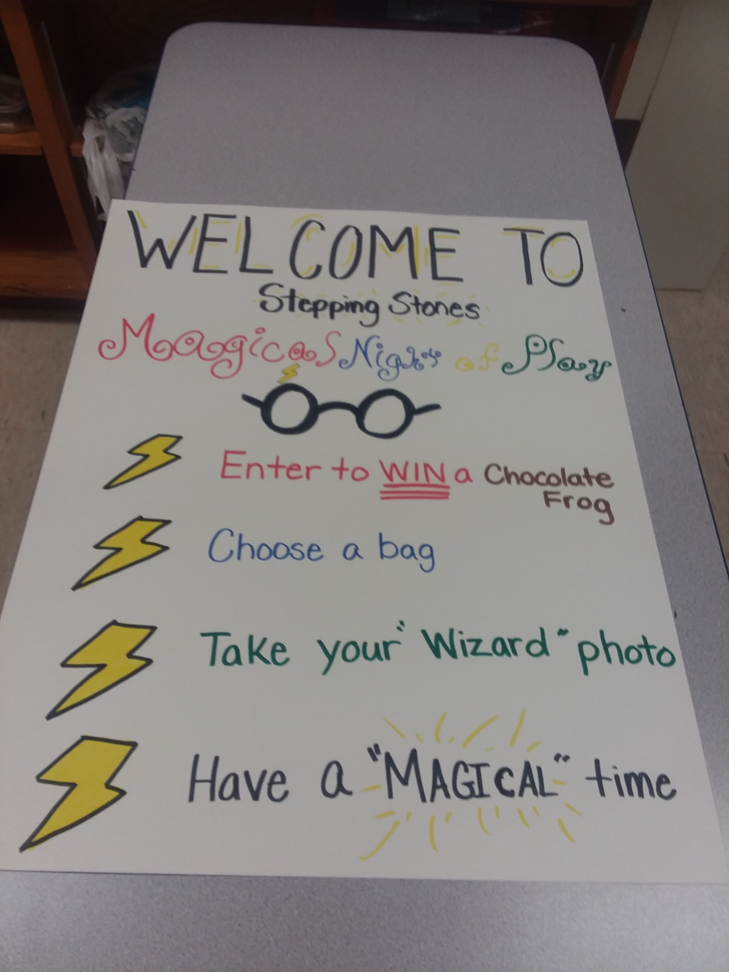 Stepping Stones - Magic Night of Play Wednesday March 13, 2019