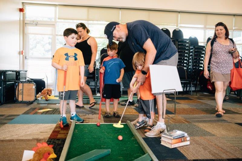 Golfing with the Whitehall Public Library