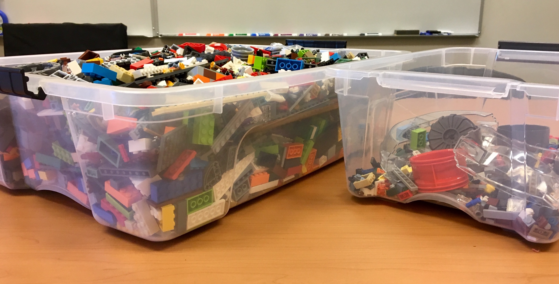 Lego™ Boxes (side view)