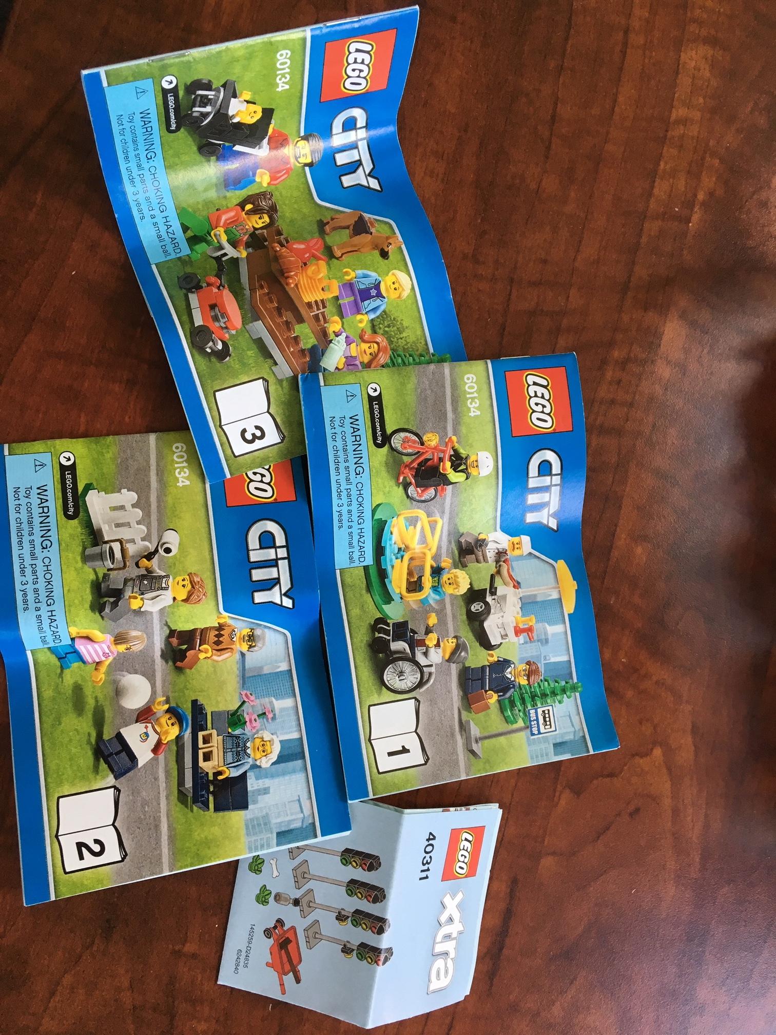 Lego™ building kit instructions