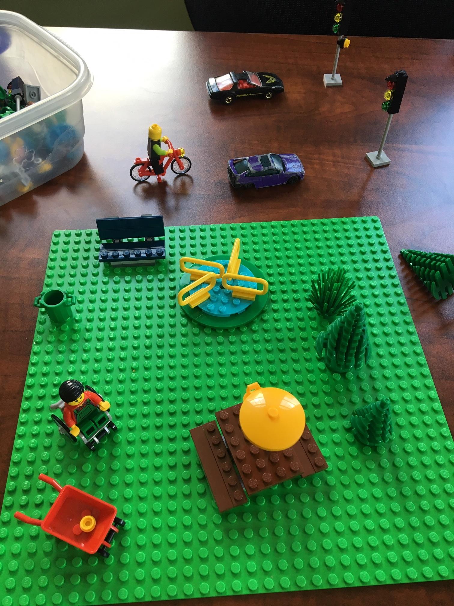 Grounded - Lego™ Sample Image