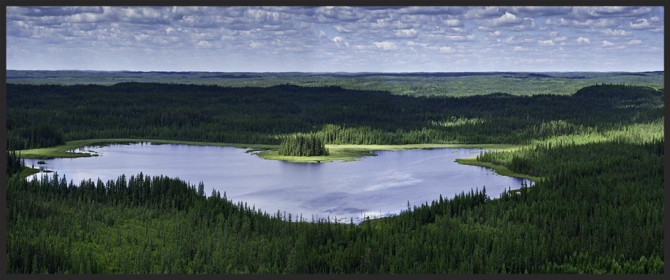 Spirit Lake First Nations Land Alberta Canada