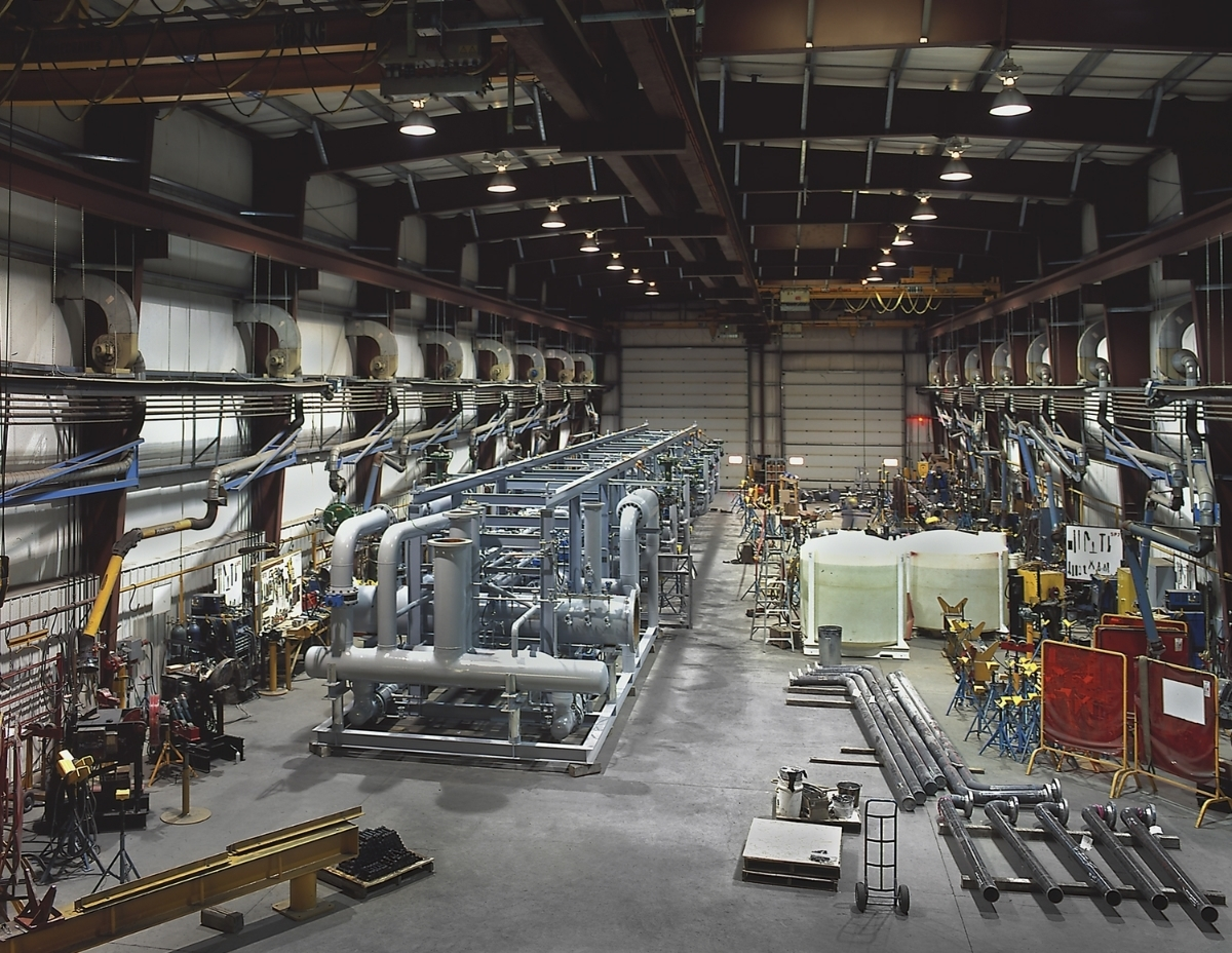 Fabrication Shop Refinery Module