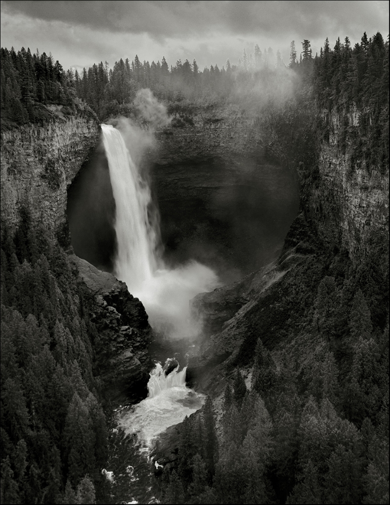 Helmcken Fall Well Gray BC Canada