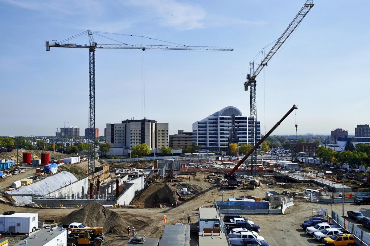 Royal Alberta Museum Construction site.jpg
