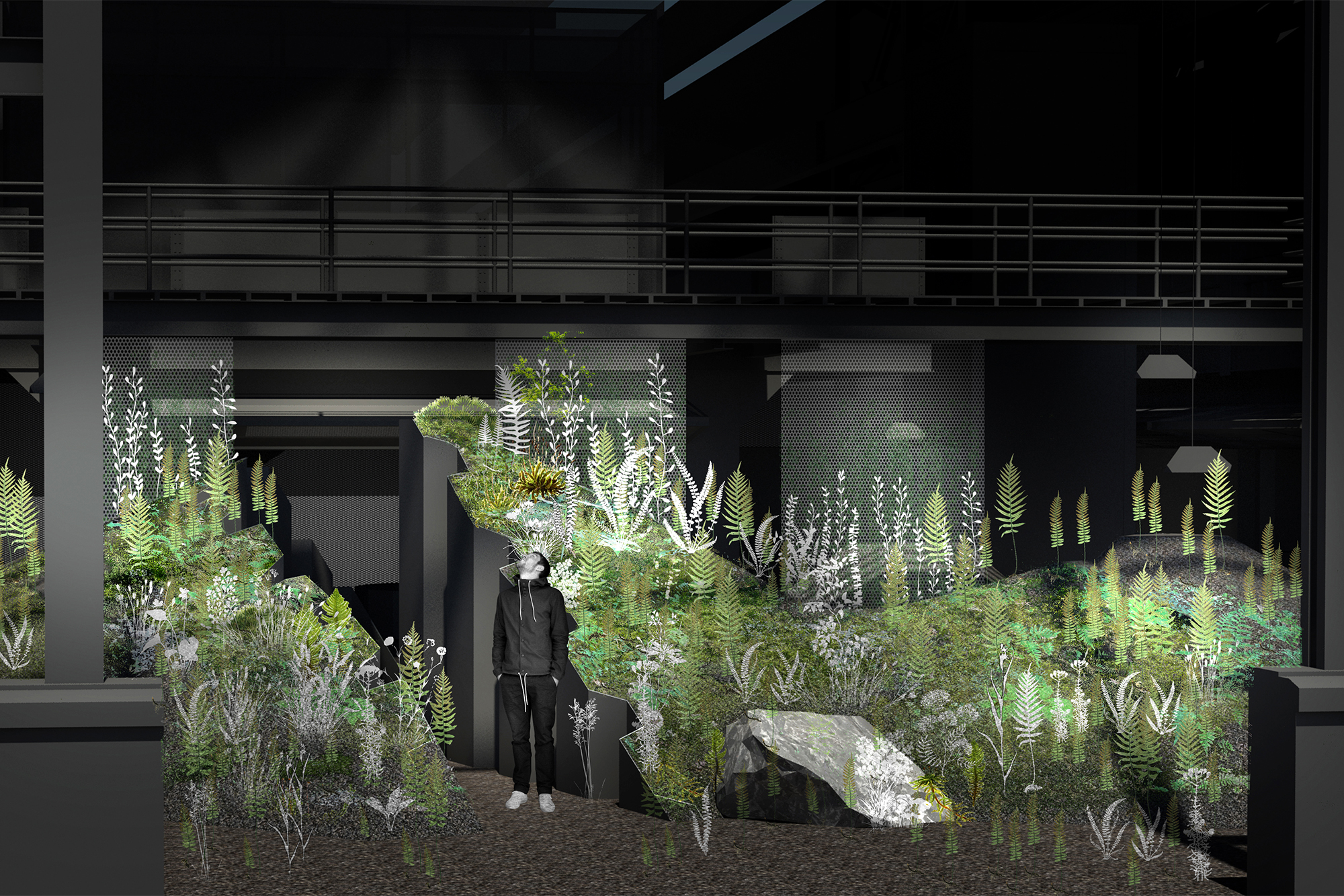 VERDANT, The Enclosed Forest, Mac Carbonell designer, Contemporary landscape, New York landscape design