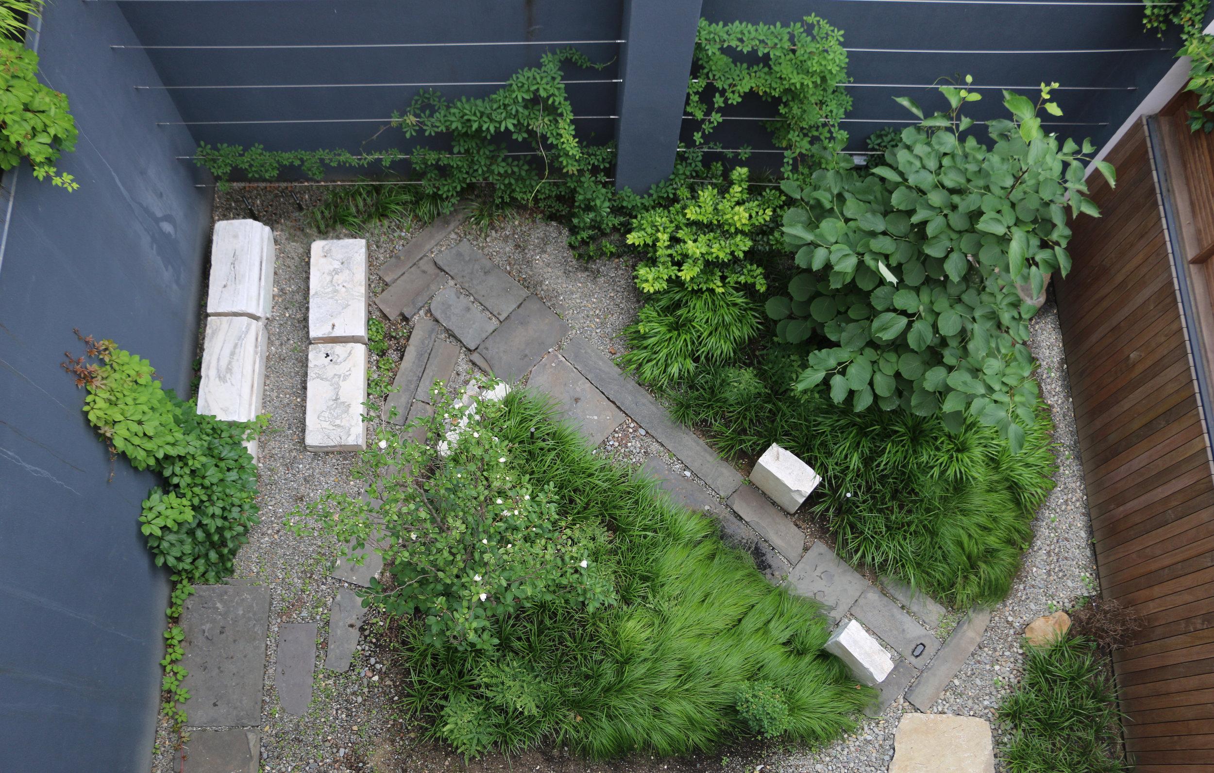 VERDANT, Stone Garden, Mac Carbonell designer, Contemporary landscape, New York landscape design