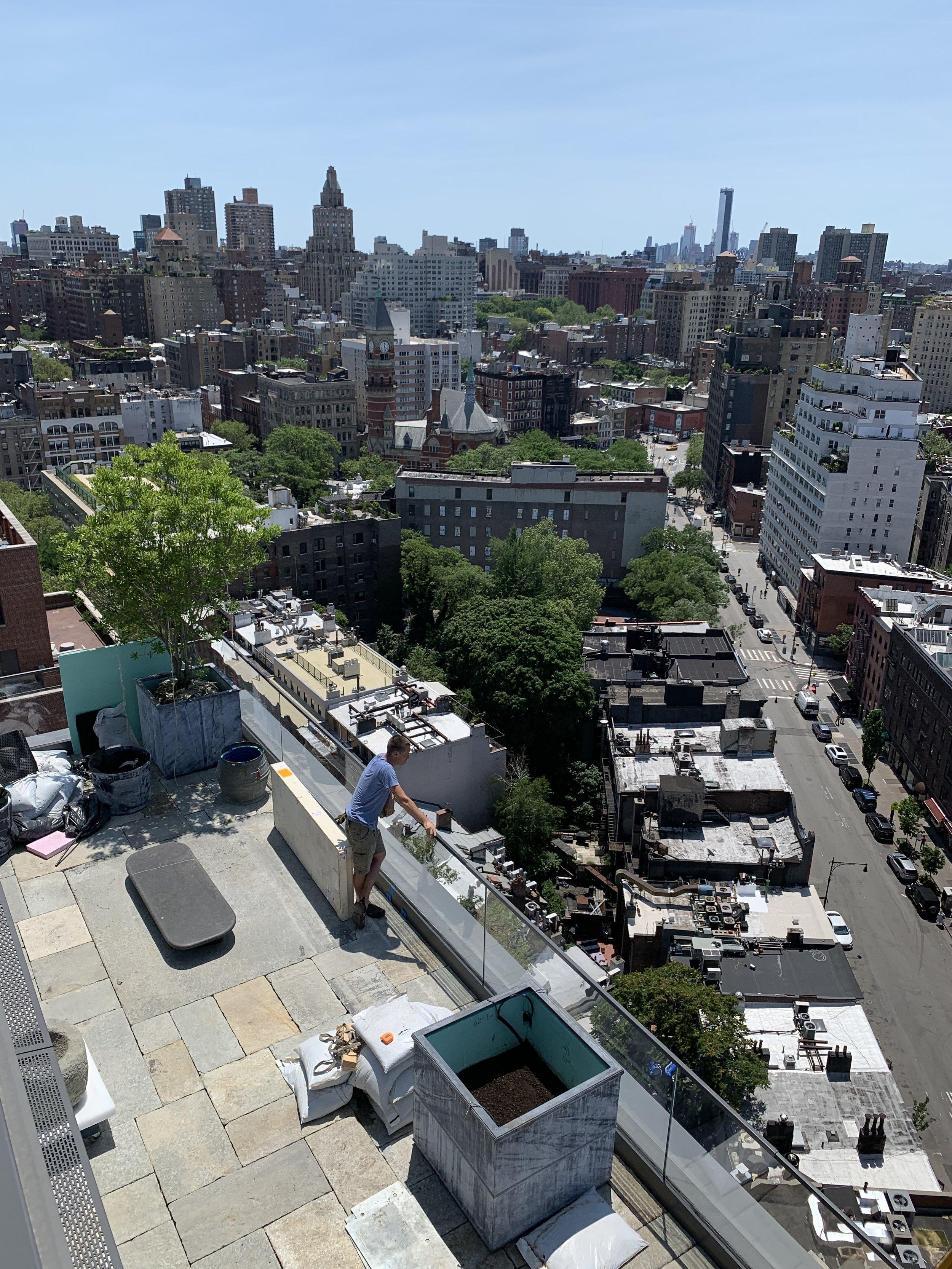 VERDANT, Panorama Terrace, Mac Carbonell designer, Contemporary landscape, New York landscape design