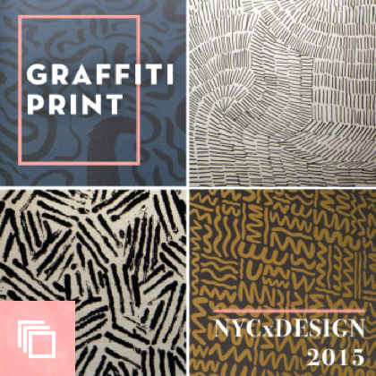 NYCxDESIGN 2015 Trends We Love: Graffiti Print