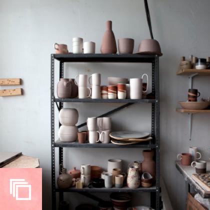 Studio Tour: Helen Levi Ceramics