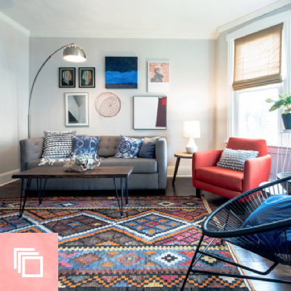 Before & After: A Logan Square Stunner for the Color-Averse