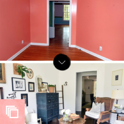 Before & After: A Reclaimed Traditional Brick Foreclosure