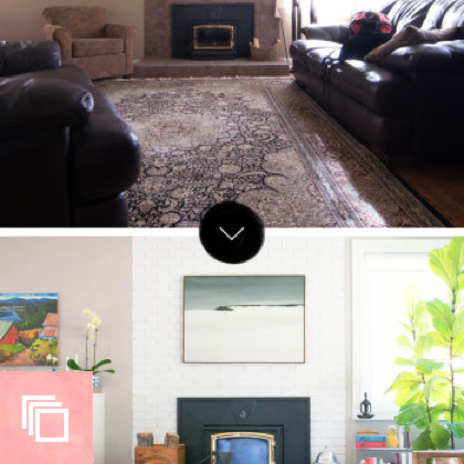 Before & After: A Big Sea of Bright