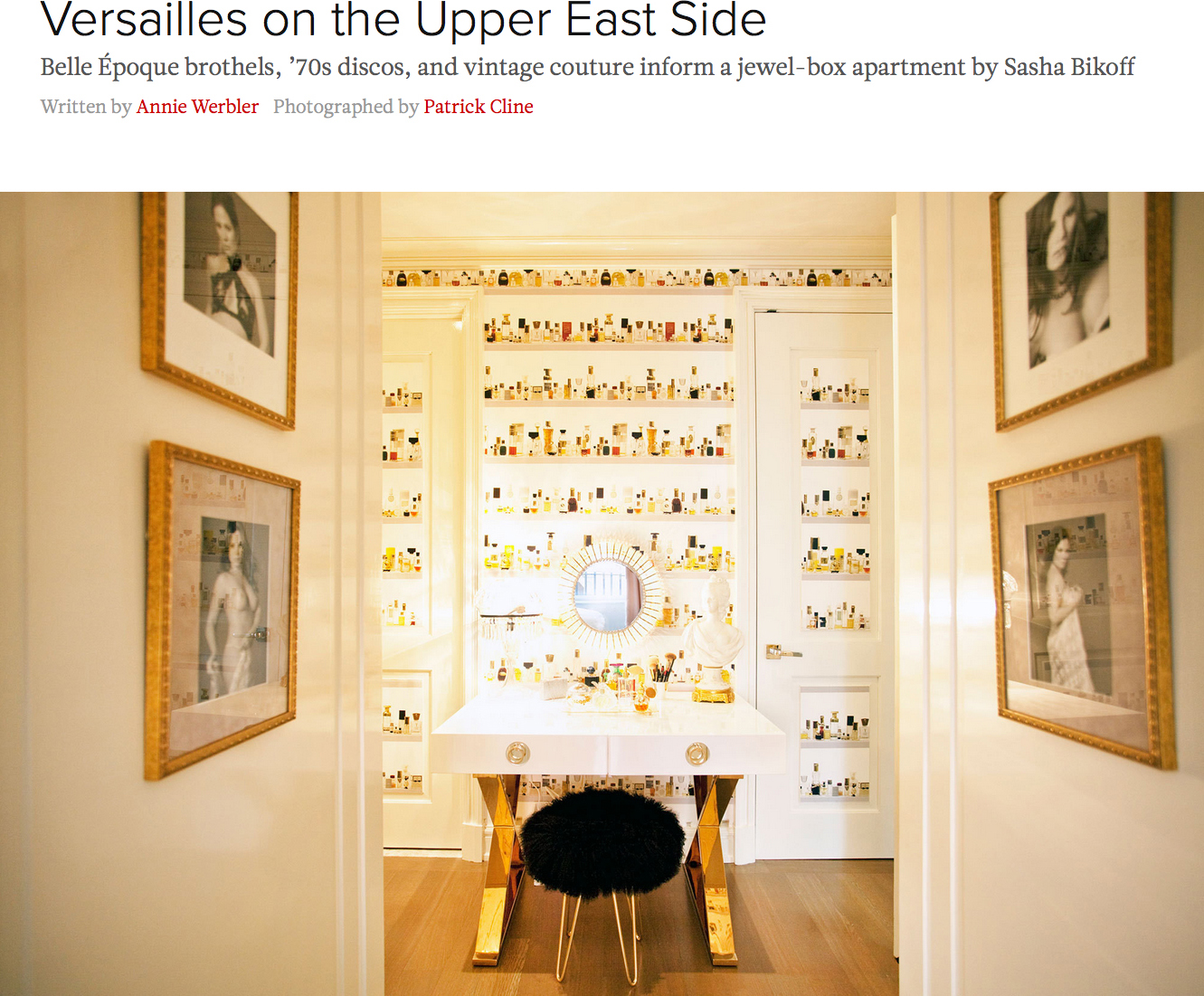 Versailles on the Upper East Side