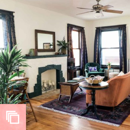 Before & After: A Fun and Affordable Treasure Hunt