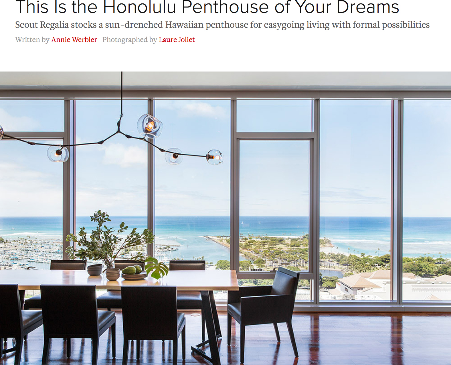 This Is the Honolulu Penthouse of Your Dreams