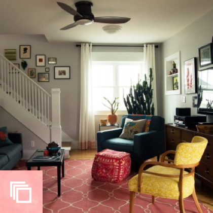 Before & After: A Fun Family Home for Mom and Son