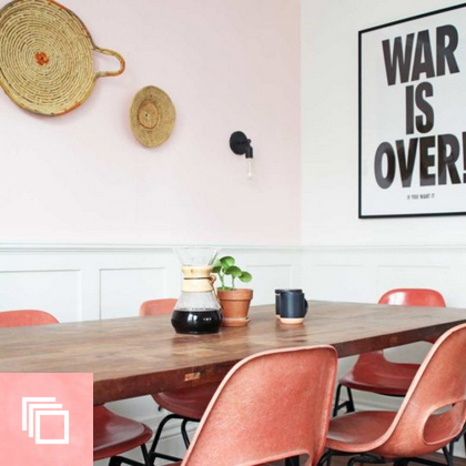 """Before & After: """"MOHO"""" Style in a Colorful Family Home"""