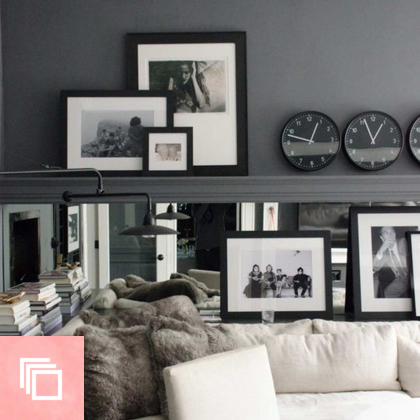 15 Beautiful Black and White Rooms