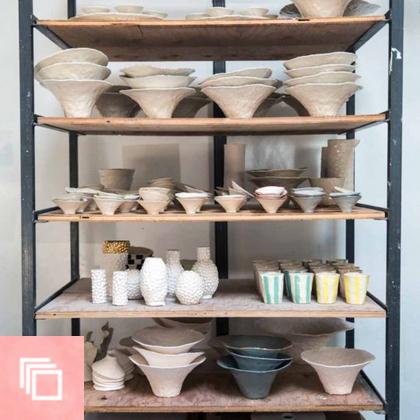 Studio Tour: Isabel Halley Ceramics