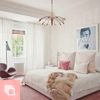 10 Perfect Pink Bedrooms