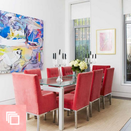 A West Chelsea, NYC Jewelry Designer Treasures Home Most of All