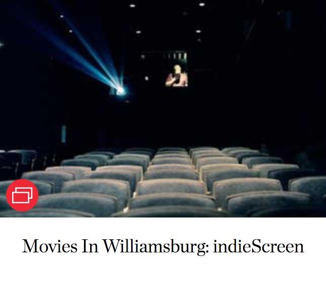 Movies In Williamsburg: indieScreen