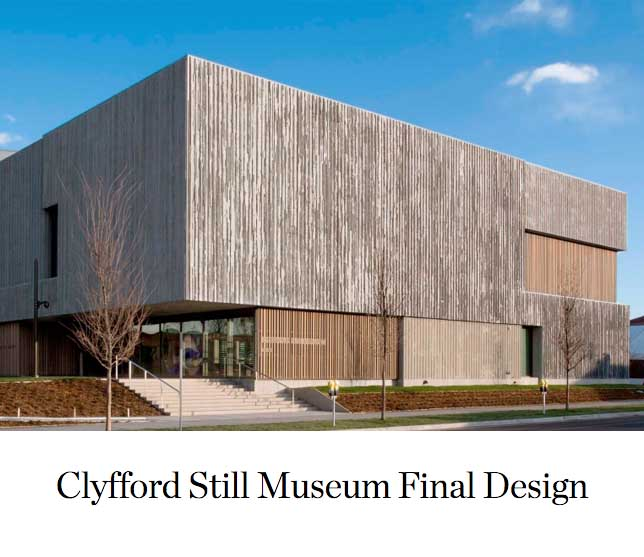 Clyfford Still Museum Final Design