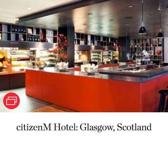 citizenM Hotel: Glasgow, Scotland