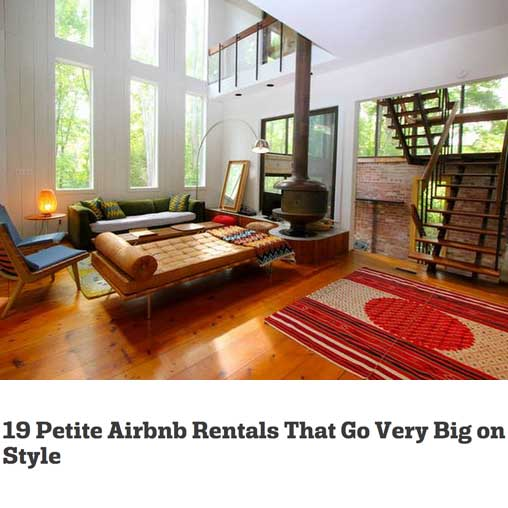 19 Petite Airbnb Rentals That Go Very Big on Style