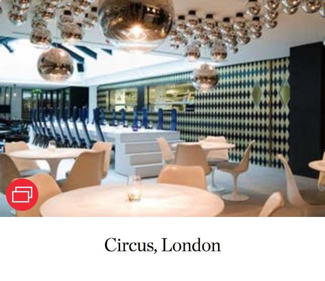 Circus, London