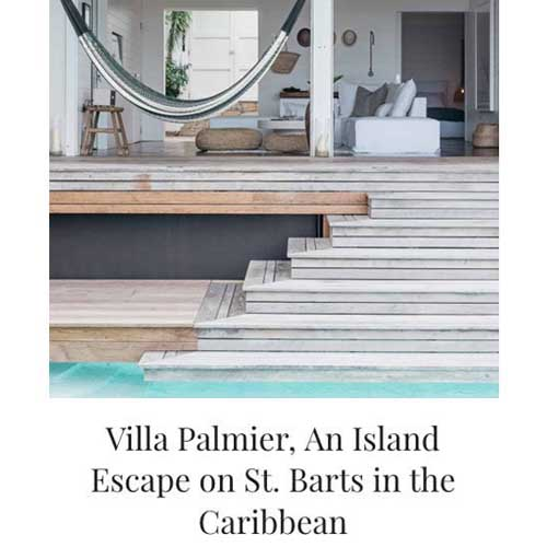 Villa Palmier, An Island Escape on St. Barts in the Caribbean