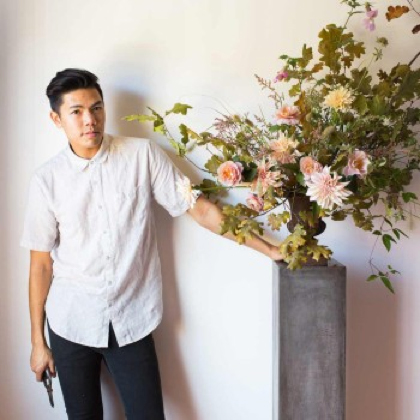 Sammy Go of Lambert Floral Studio