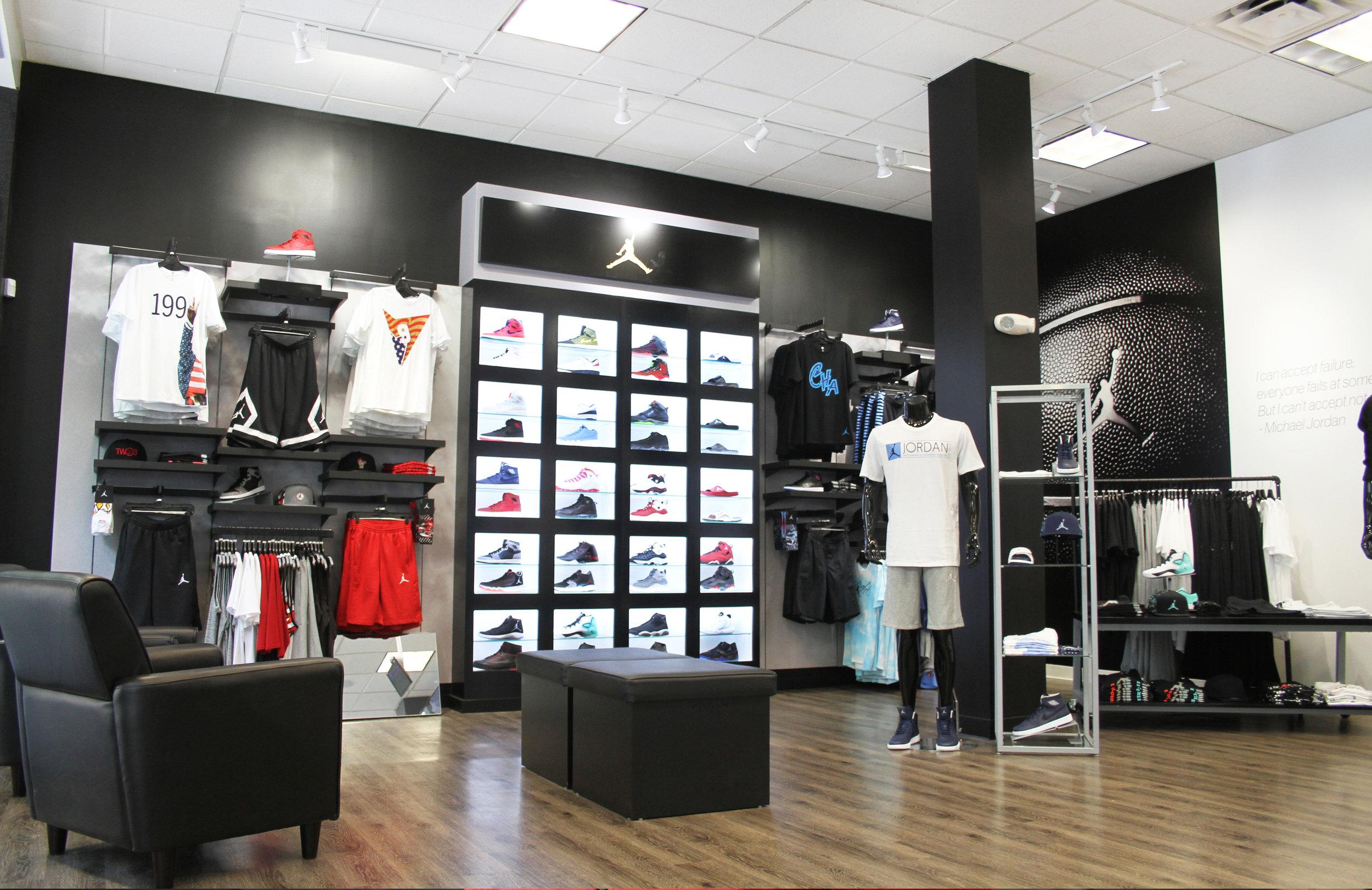 Jordan Shop In Shop