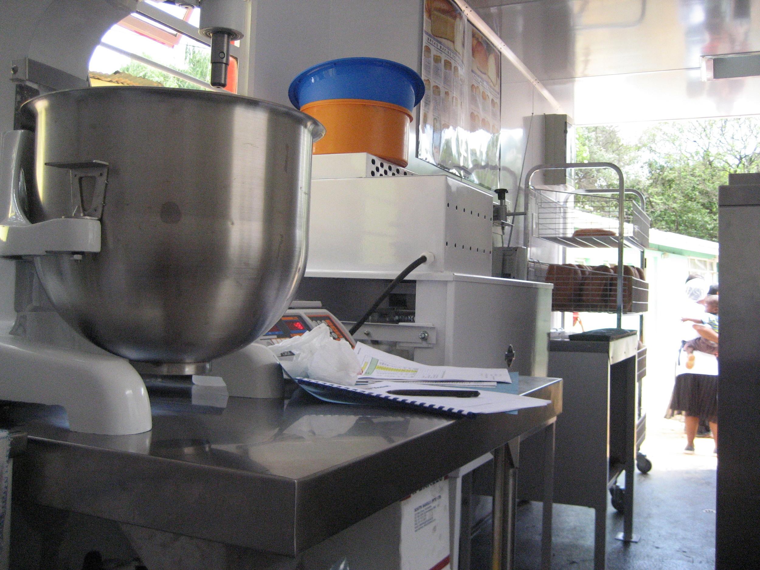 Nkosi inside mixer.JPG